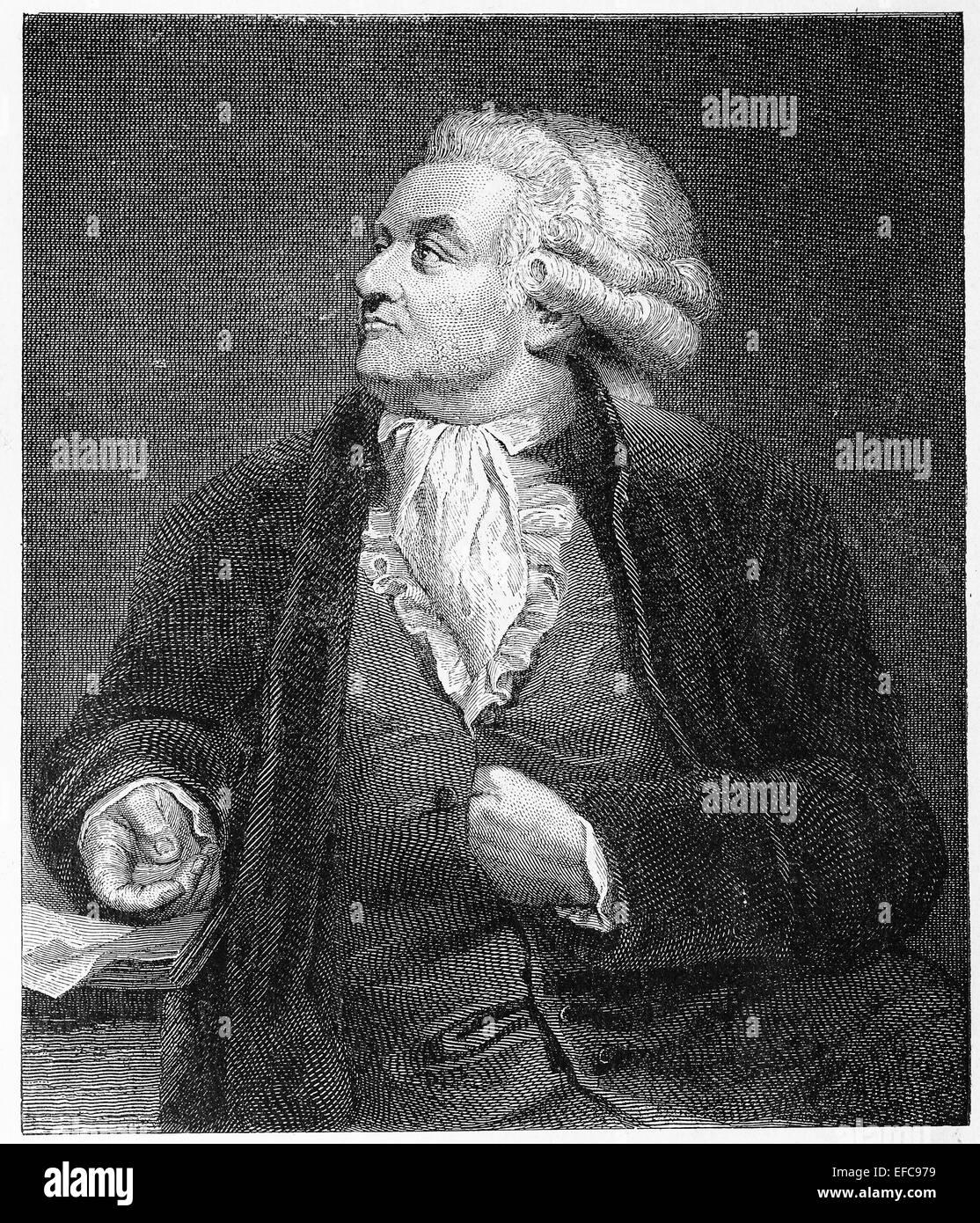Honore Gabriel Riqueti, comte de Mirabeau - Stock Image