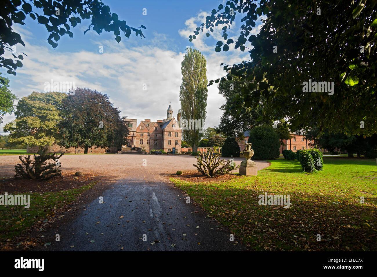 Rufford; Abbey; 12th; century; Ollerton; Nottinghamshire; UK; - Stock Image
