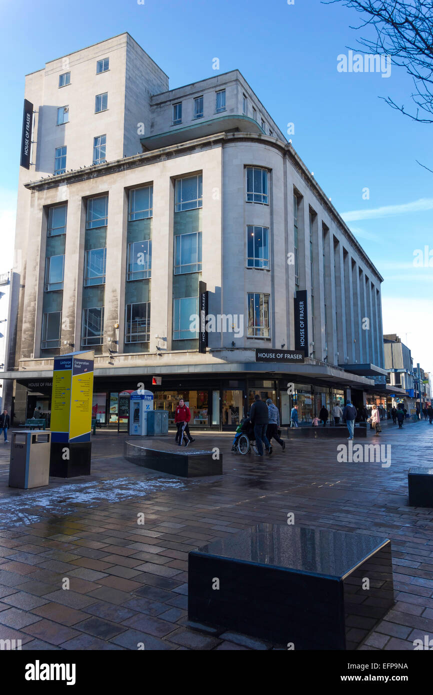 Amazing Binns Building Now House Of Fraser Store Built Us Art Deco Style In  Cleveland With Store Deco