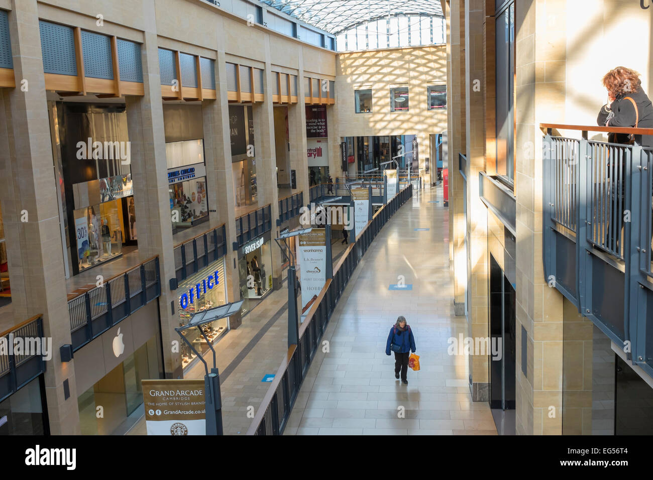 grand-arcade-from-top-floor-cambridge-city-cambridgeshire-england-EG56T4.jpg