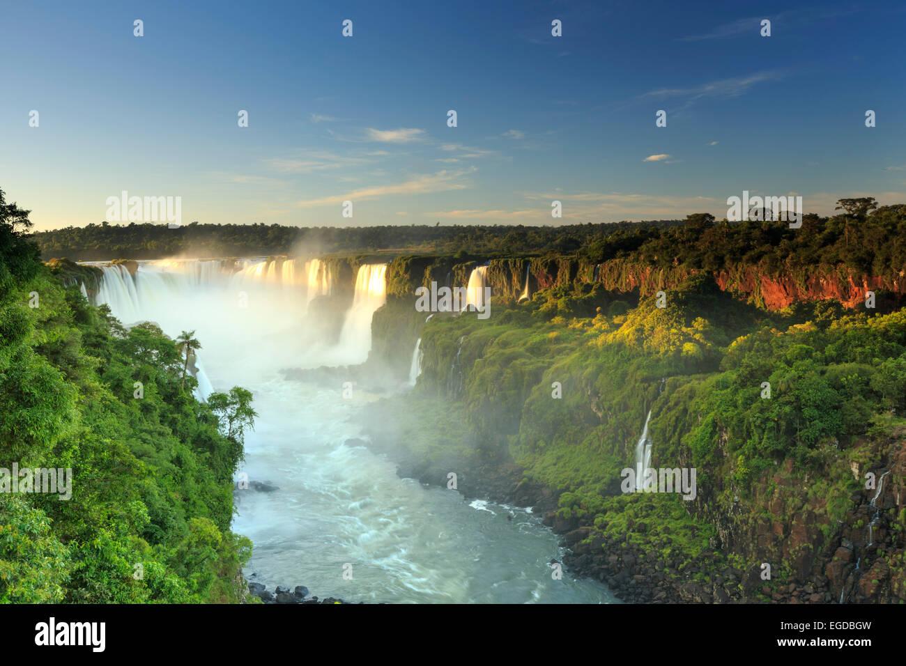 Brazil, Parana, Iguassu Falls National Park (Cataratas do Iguacu) (UNESCO Site) - Stock Image