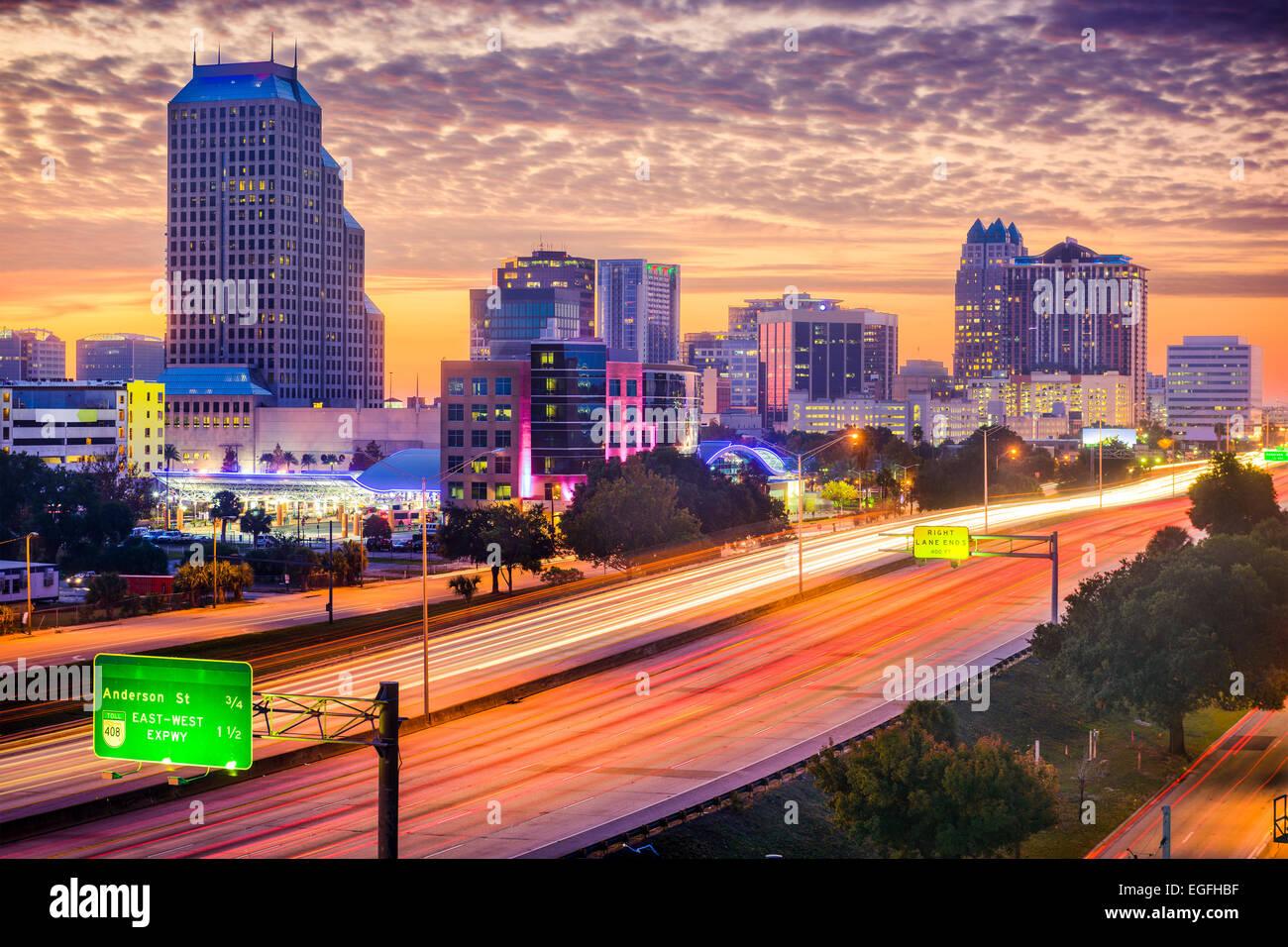 Orlando, Florida, USA cityscape. - Stock Image