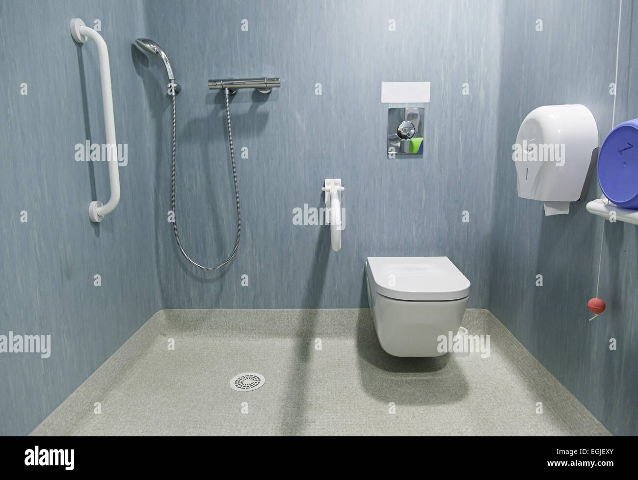 Disabled bathroom in a hospital Stock Photo: 79082835 - Alamy