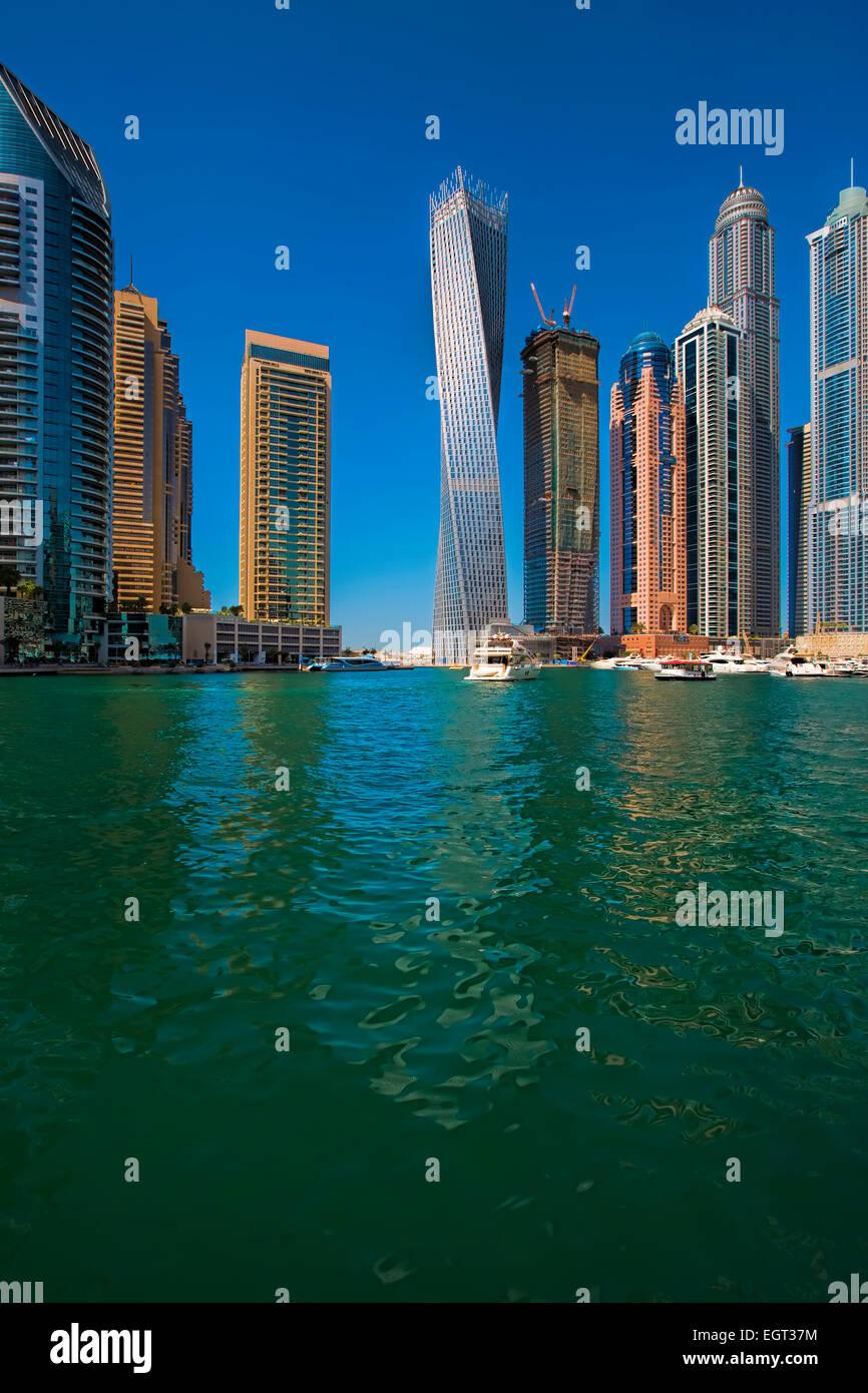 Dubai Marina - Stock Image