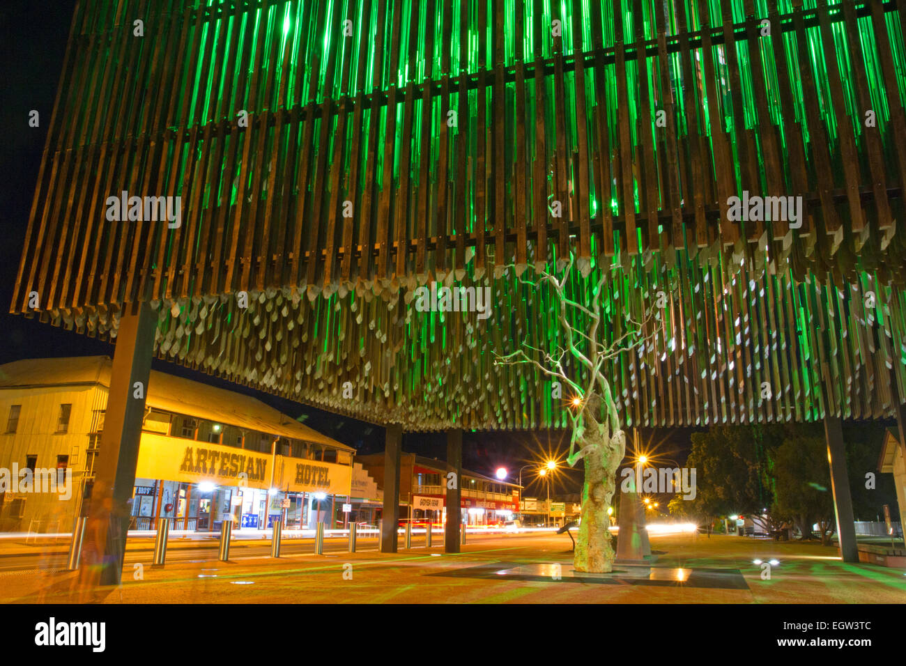 The Tree of Knowledge, said to be the birthplace of the Australian Labor Party Stock Photo