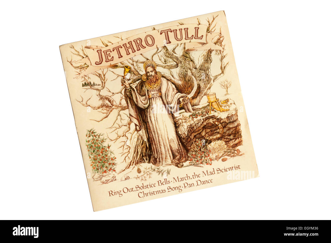 This four track EP by Jethro Tull was issued on the Chrysalis label ...