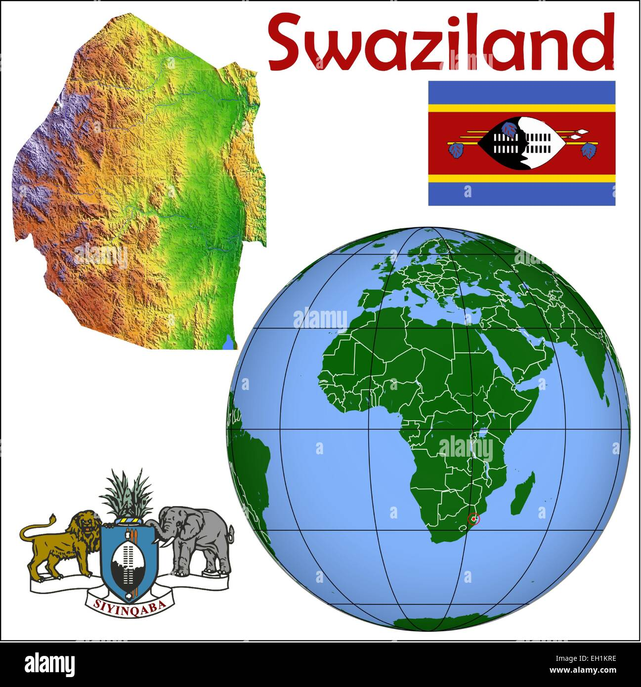 Capital City Of Swaziland Stock Photos Capital City Of Swaziland