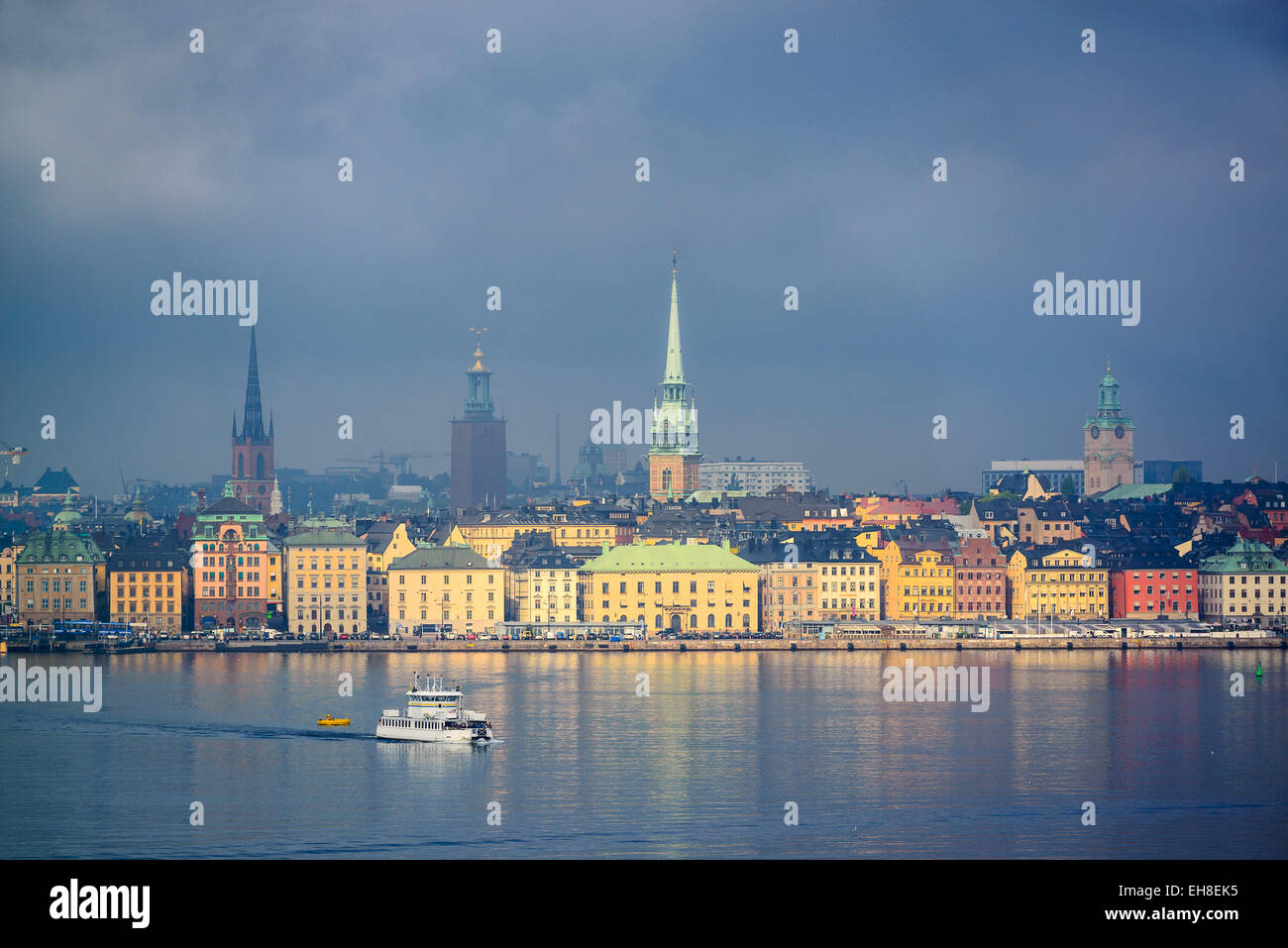 Stockholm, Sweden city skyline. - Stock Image