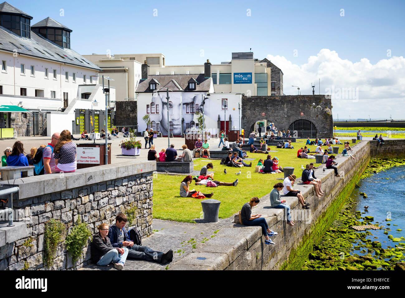 Spanish Arches, Galway City, Ireland Stock Photo
