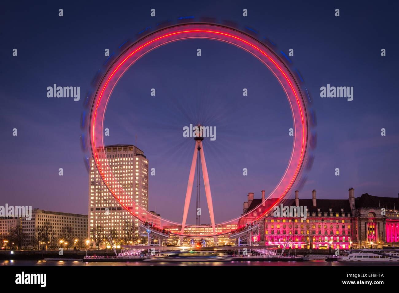 London Eye, London - Stock Image
