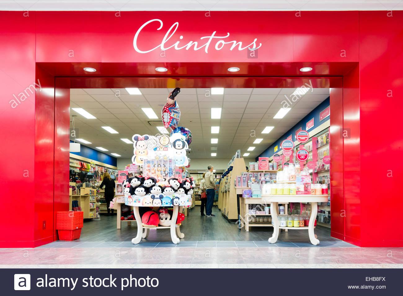 Clintons store Cribbs Causeway near Bristol, UK. Stock Photo