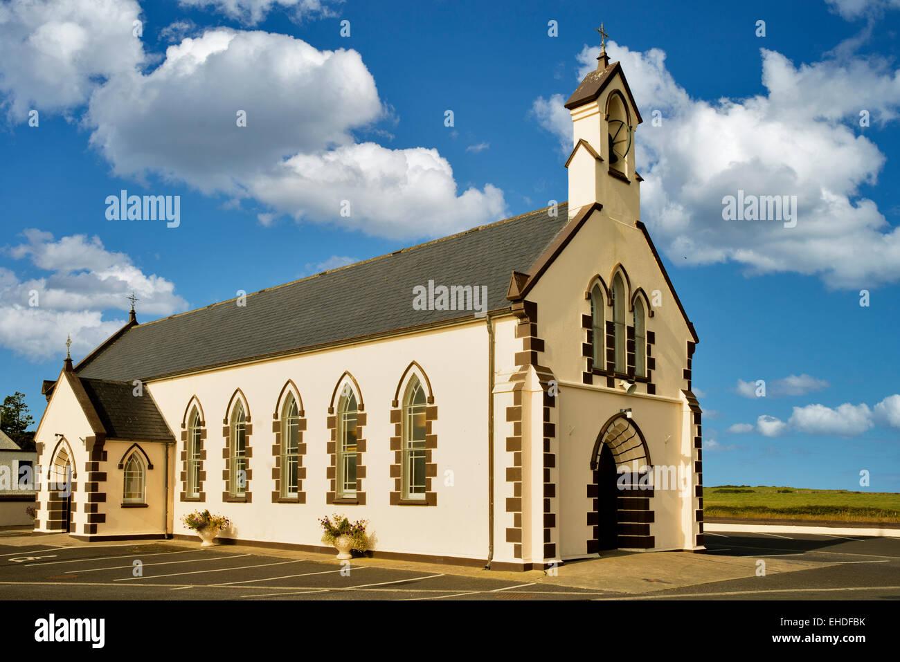 Rathlee Church. Rathlee, Ireland - Stock Image