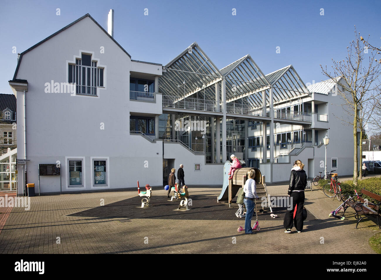 Townhouse, Rheinberg, Germany - Stock Image