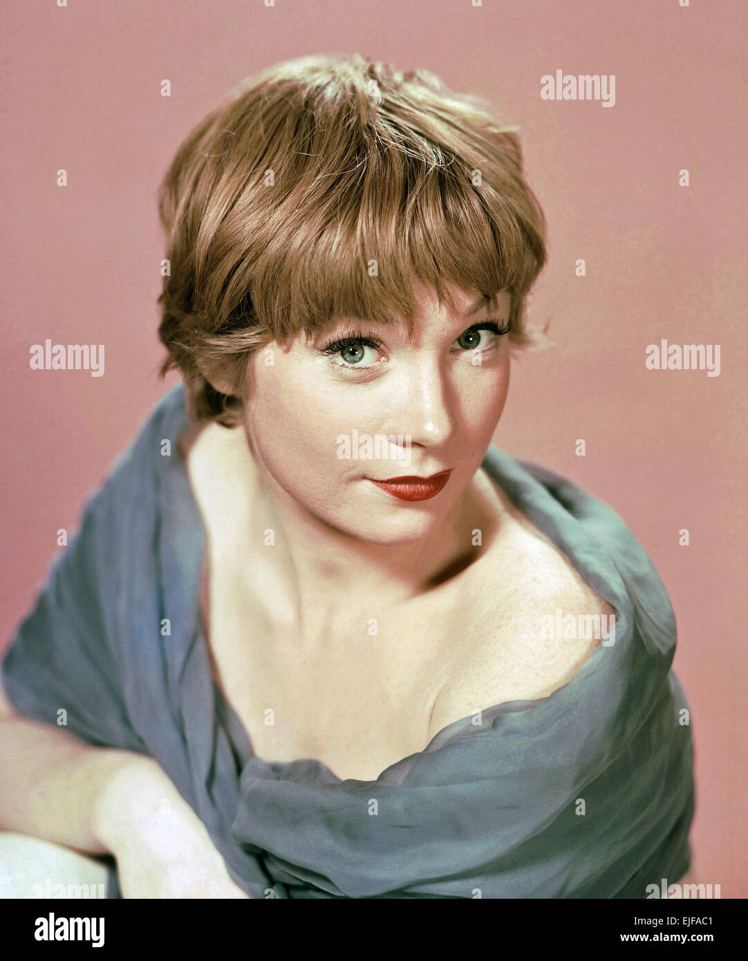 SHIRLEY MacLAINE  US film actress in 1960 Stock Photo