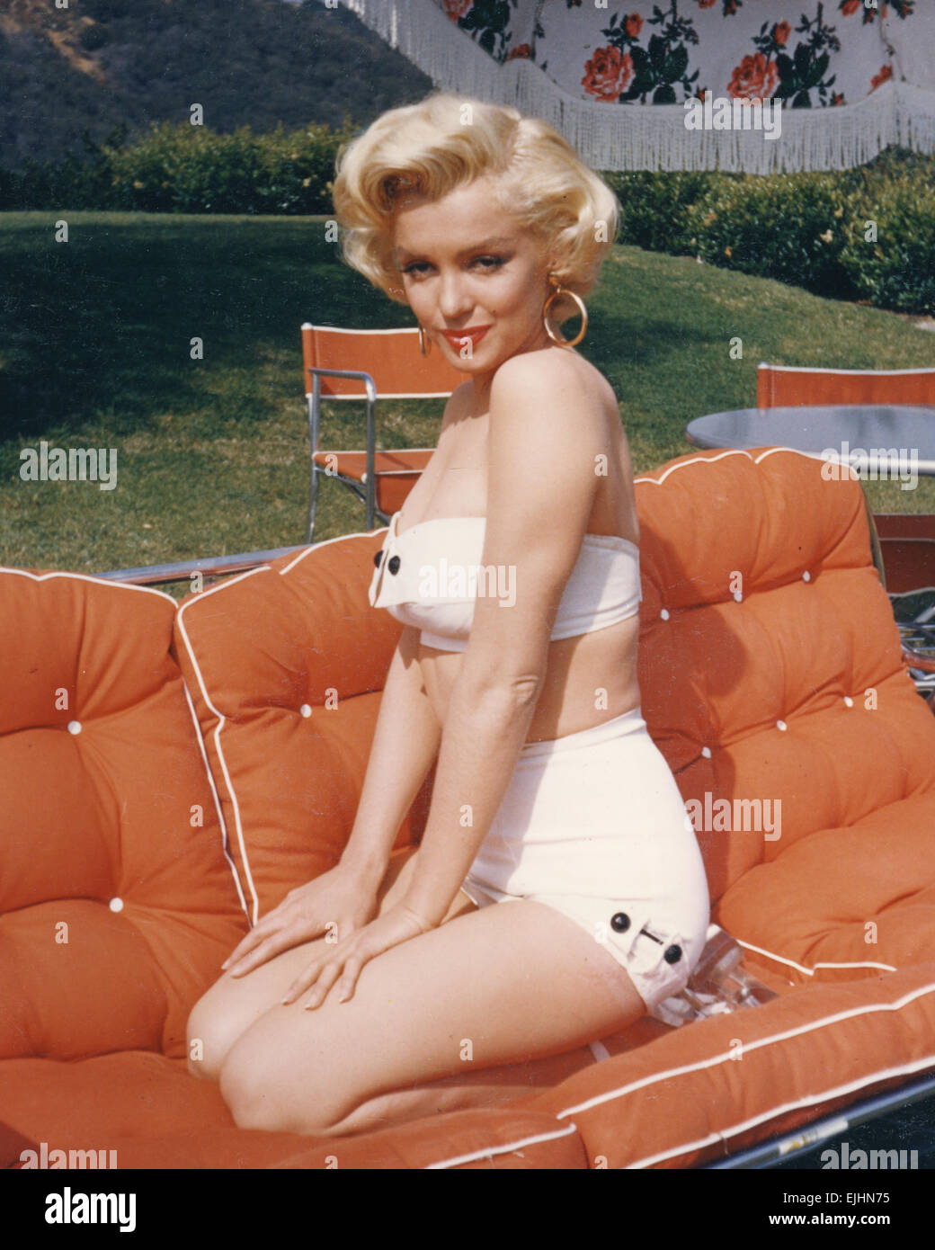 MARILYN MONROE (1926-1962) US film actress - Stock Image