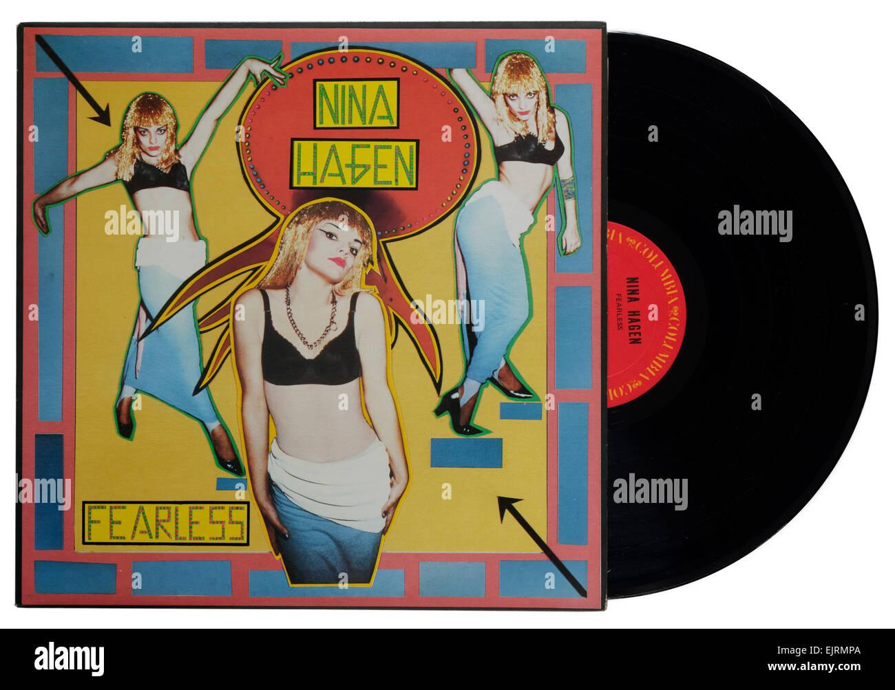 Nina Hagen album Fearless - Stock Image
