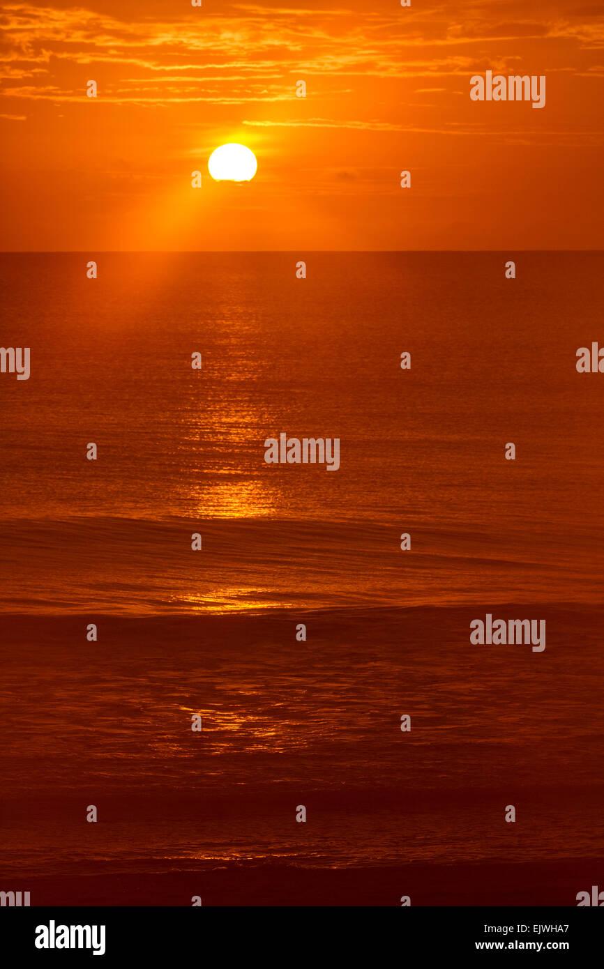 Sunrise - Indian Harbor Beach, Florida - Stock Image