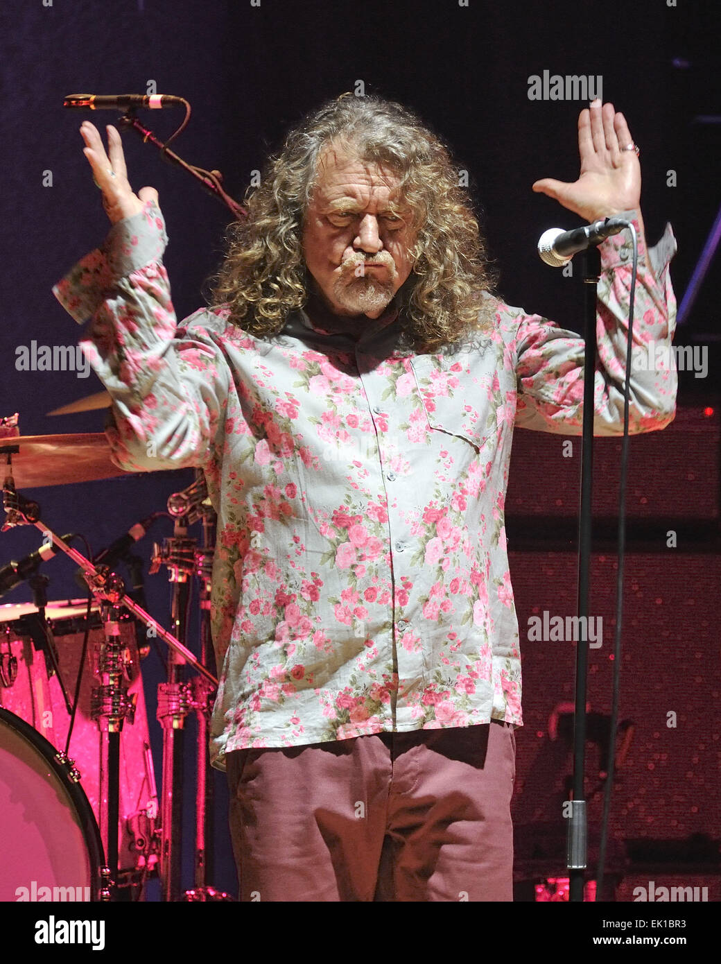 Robert Plant And The Sensational Space Shifters perform at Massey Hall. Featuring: Robert Plant Where: New York - Stock Image