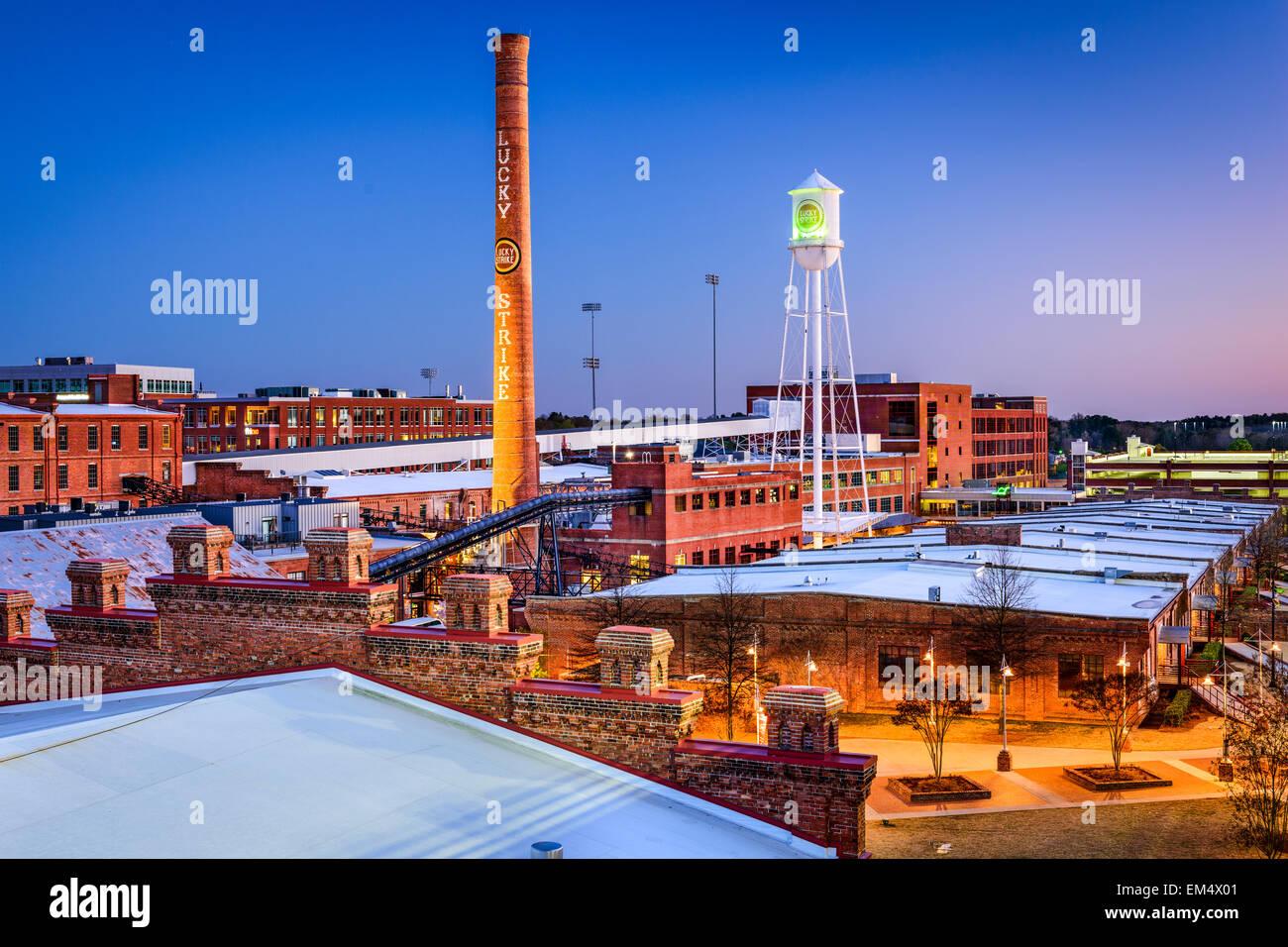 The American Tobacco Historic District In Durham North Carolina