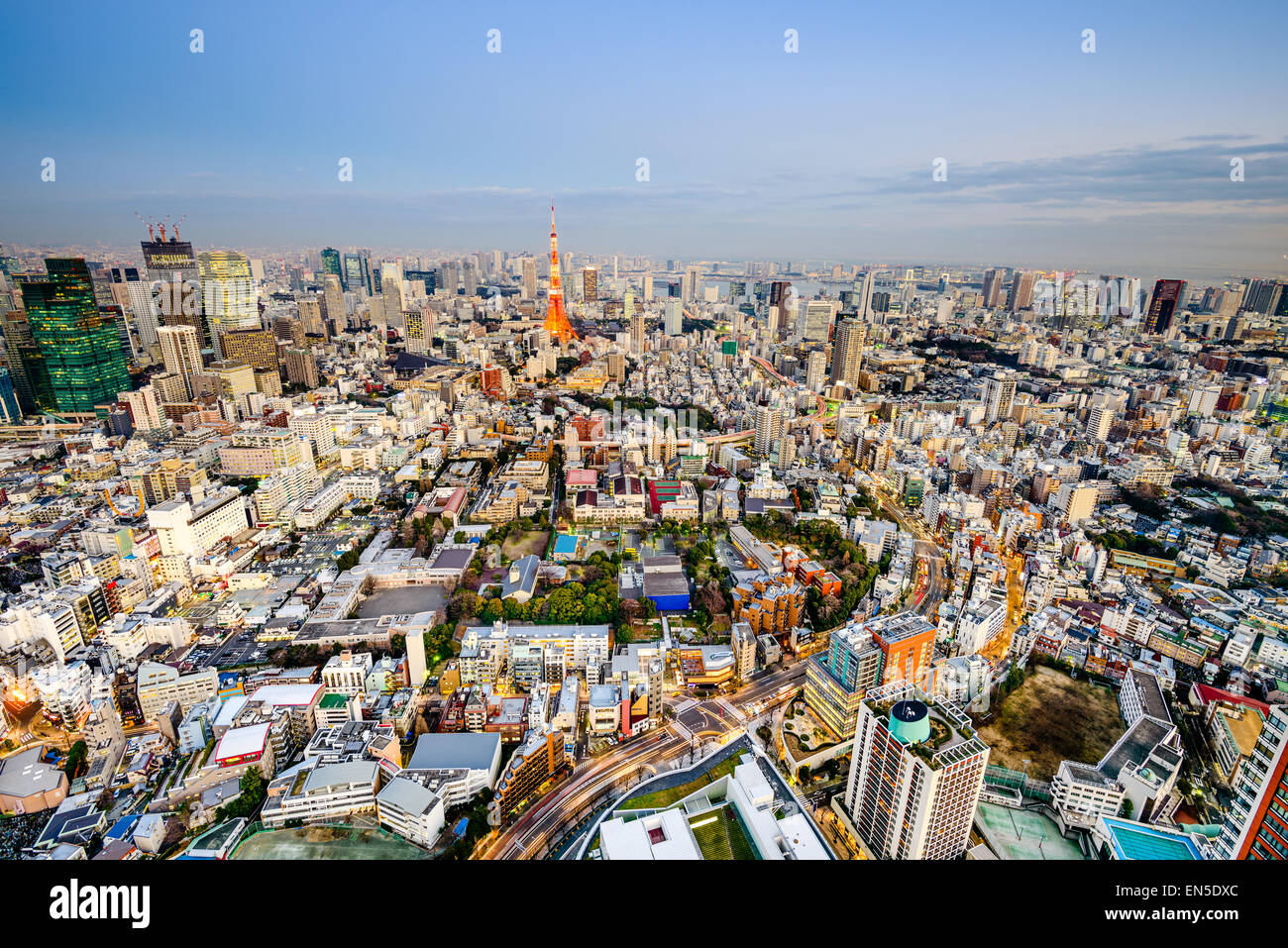 Tokyo, Japan cityscape. - Stock Image