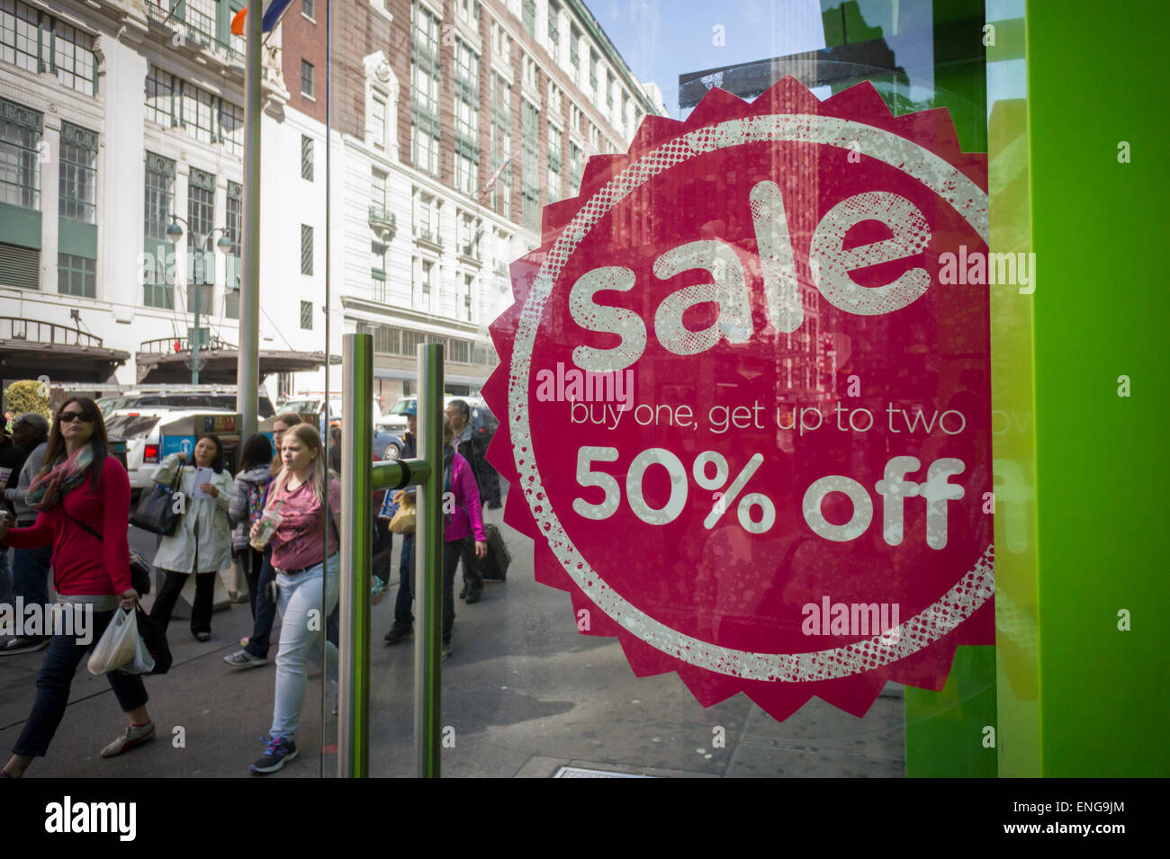 30e9e81ba A fifty percent off sale at a Crocs store in Herald Square in New York on  Thursday