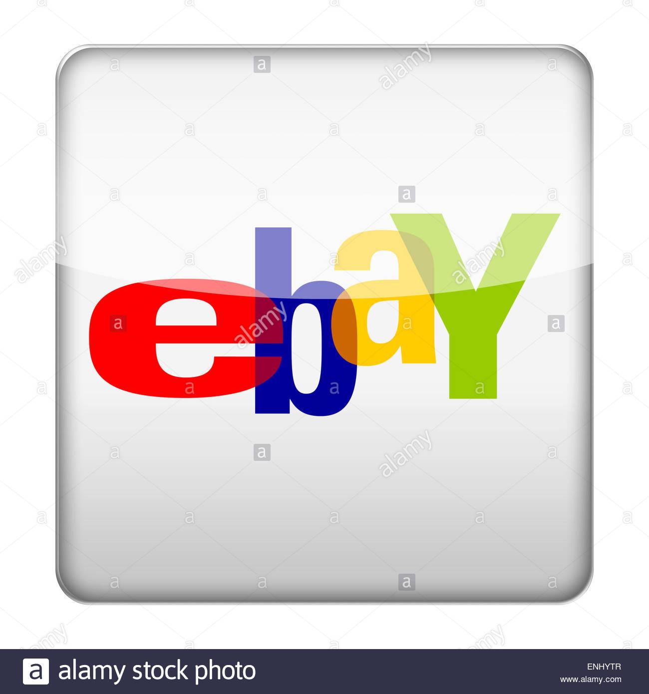Ebay Logo Icon Stock Photo 82144295 Alamy