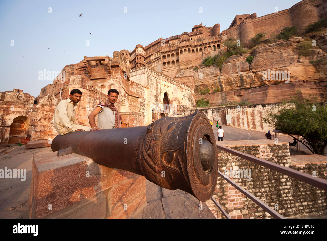 Fort Meherangarh, Jodhpur, Rajasthan, India - Stock Image