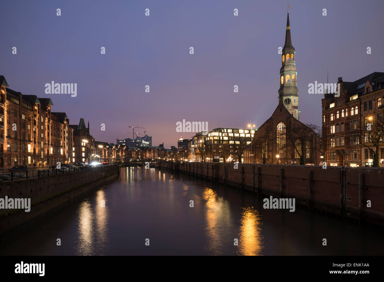 Hafencity, Hamburg, Germany, Europe - Stock Image
