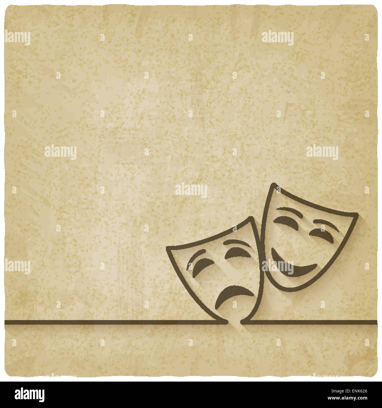 Theatre Masks Comedy Tragedy Stock Photos & Theatre Masks Comedy ...