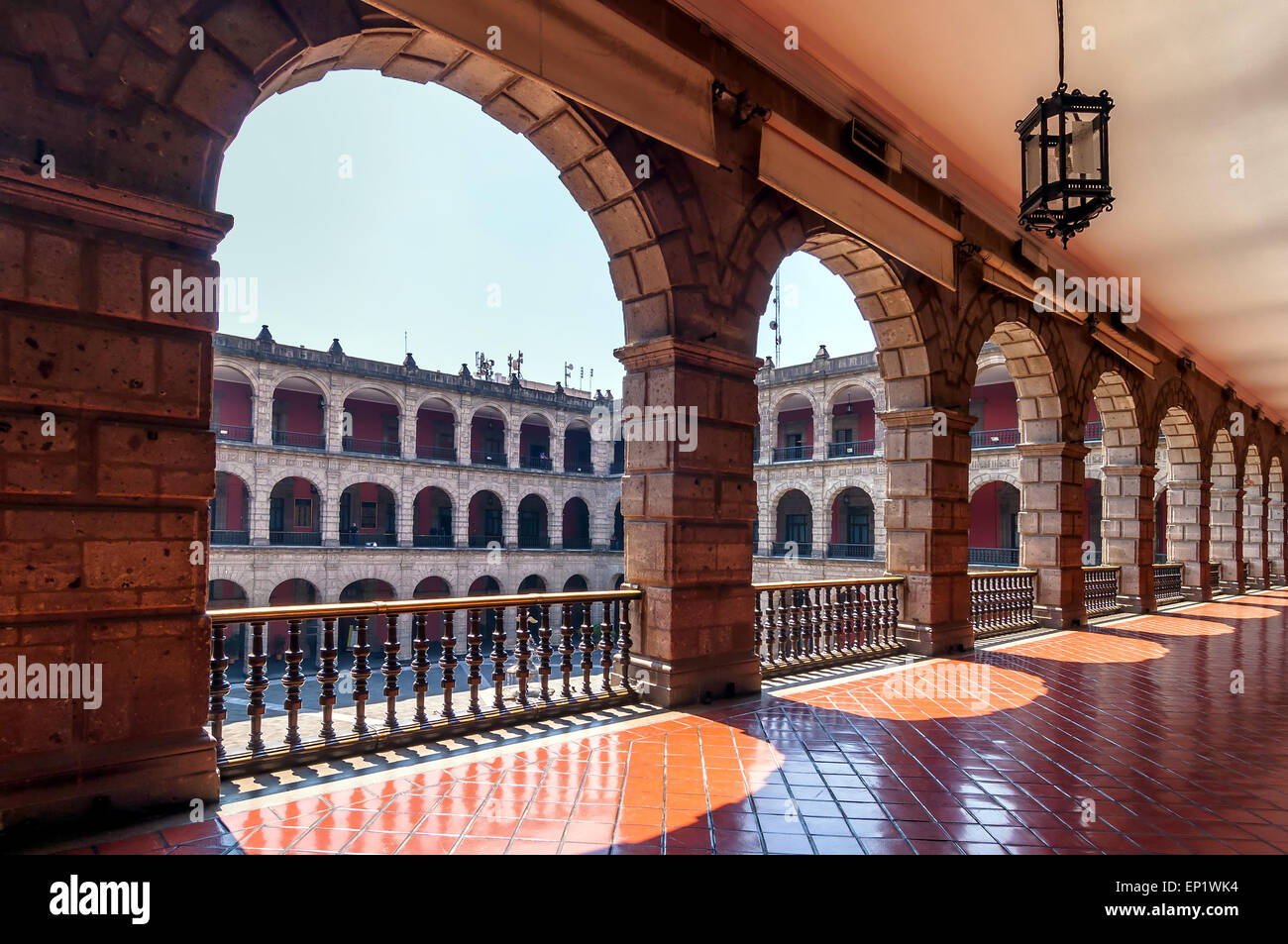 National Palace in Mexico City, Mexico - Stock Image