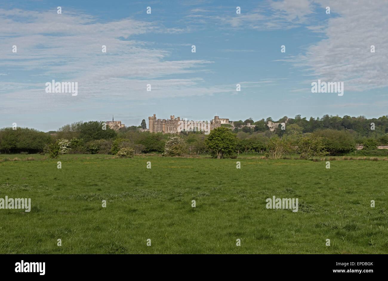 Arundel Castle, West Sussex, England, UK, GB - Stock Image