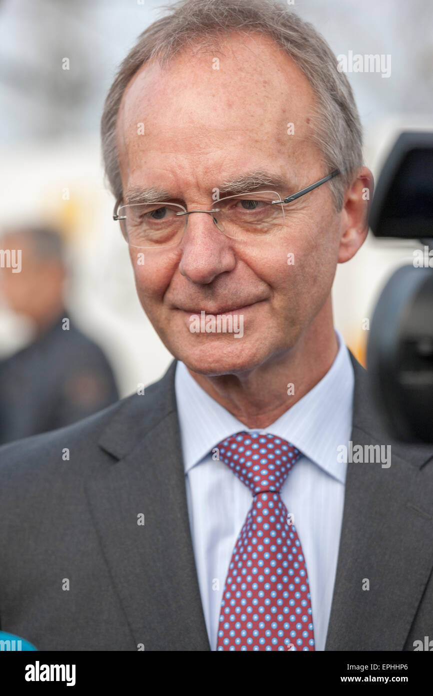 Dutch Minister of Economic Affairs Henk Kamp - Stock Image