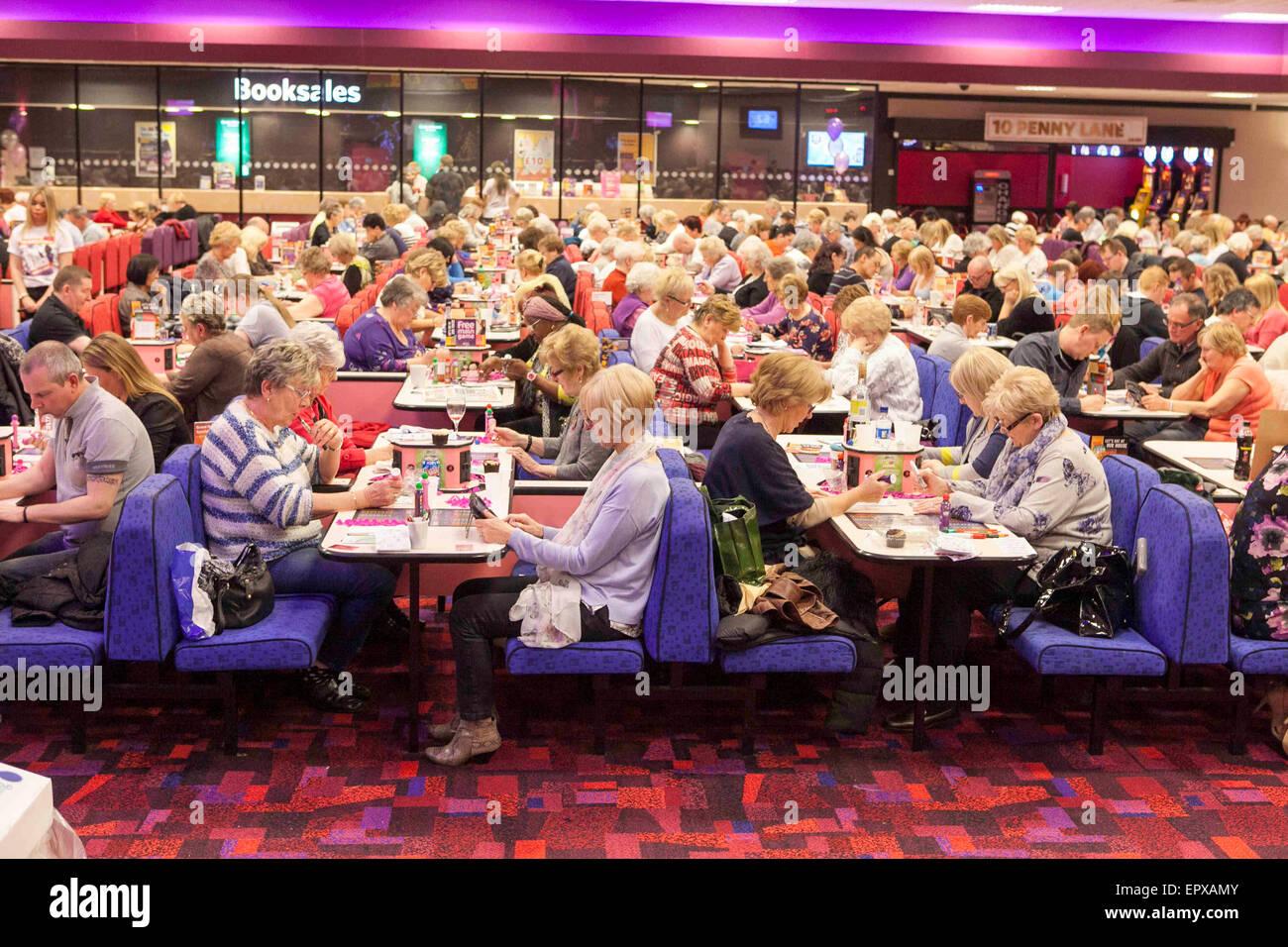 Mecca Bingo Hall , Knotty Ash Stock Photo