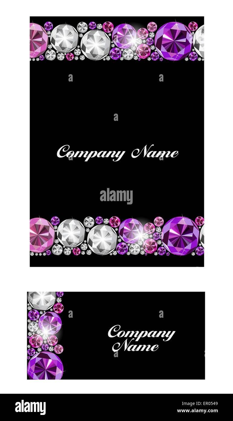 Abstract luxury black diamond business card vector illustration abstract luxury black diamond business card vector illustration colourmoves