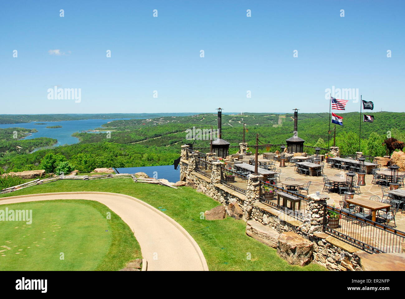 Top Of The Rock Golf Course By Table Rock Lake In Branson Missouri - Table rock lake golf course