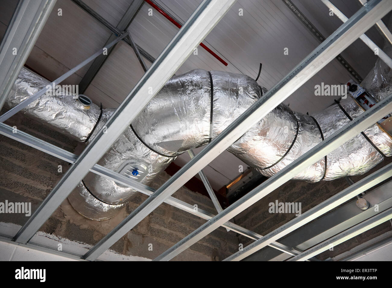 Air Conditioning Pipes Stock Photos & Air Conditioning Pipes Stock ...