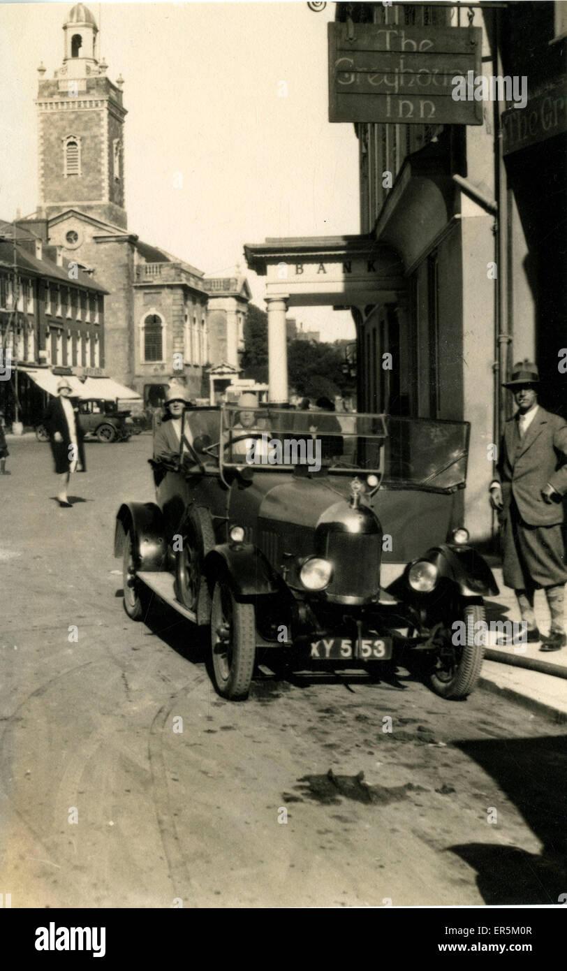 Bullnose Morris Cowley Vintage Car, England. London registration ...