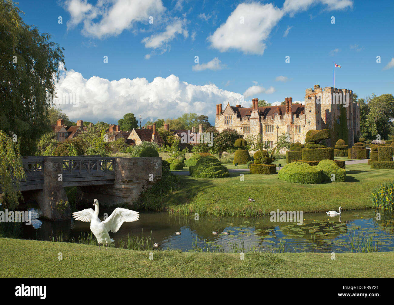 Hever Castle, Kent. Stock Photo