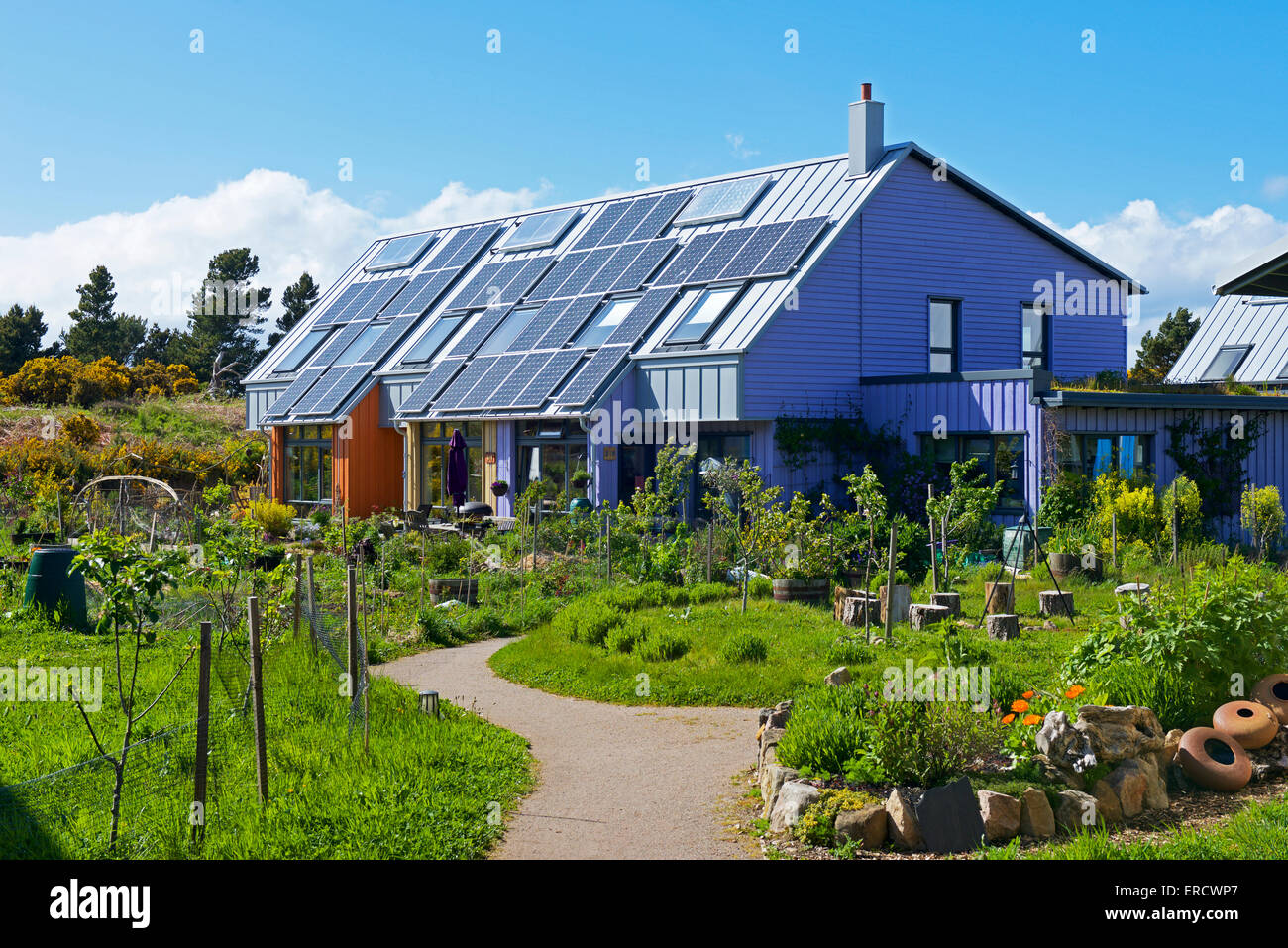 houses-in-eco-village-findhorn-foundation-moray-scotland-uk-ERCWP7.jpg