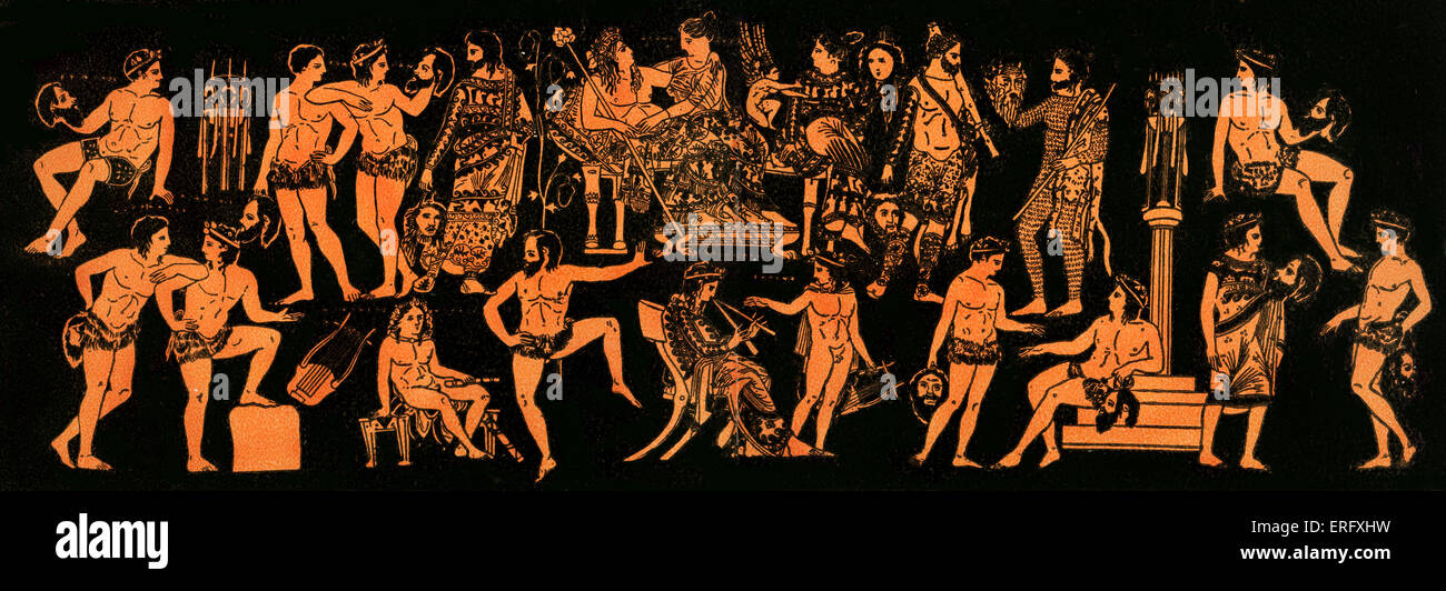 an overview of ancient greek drama The city put on a drama festival called the dionysia in honour of the god dionysus he was the god of the theatre and wine the festival was a bit like a competition.