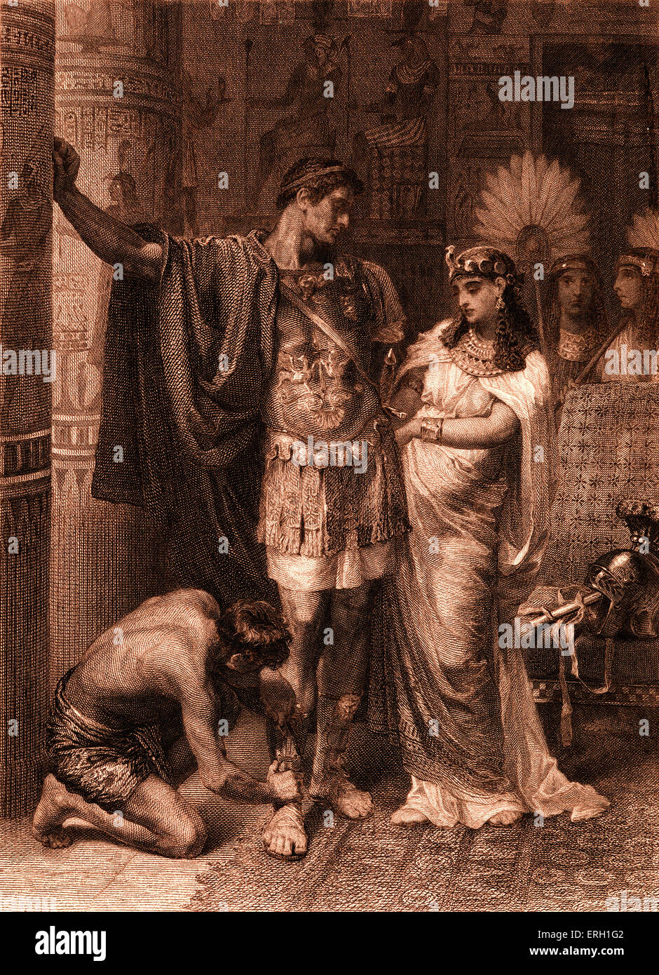 an analysis of the antony and cleopatra by shakespeare A summary of shakespeare's antony & cleopatra - a tragedy of love and duty antony & cleopatra written around 1606 is one of shakespeare's great historical love stories antony is captivated by cleopatra, queen of egypt.