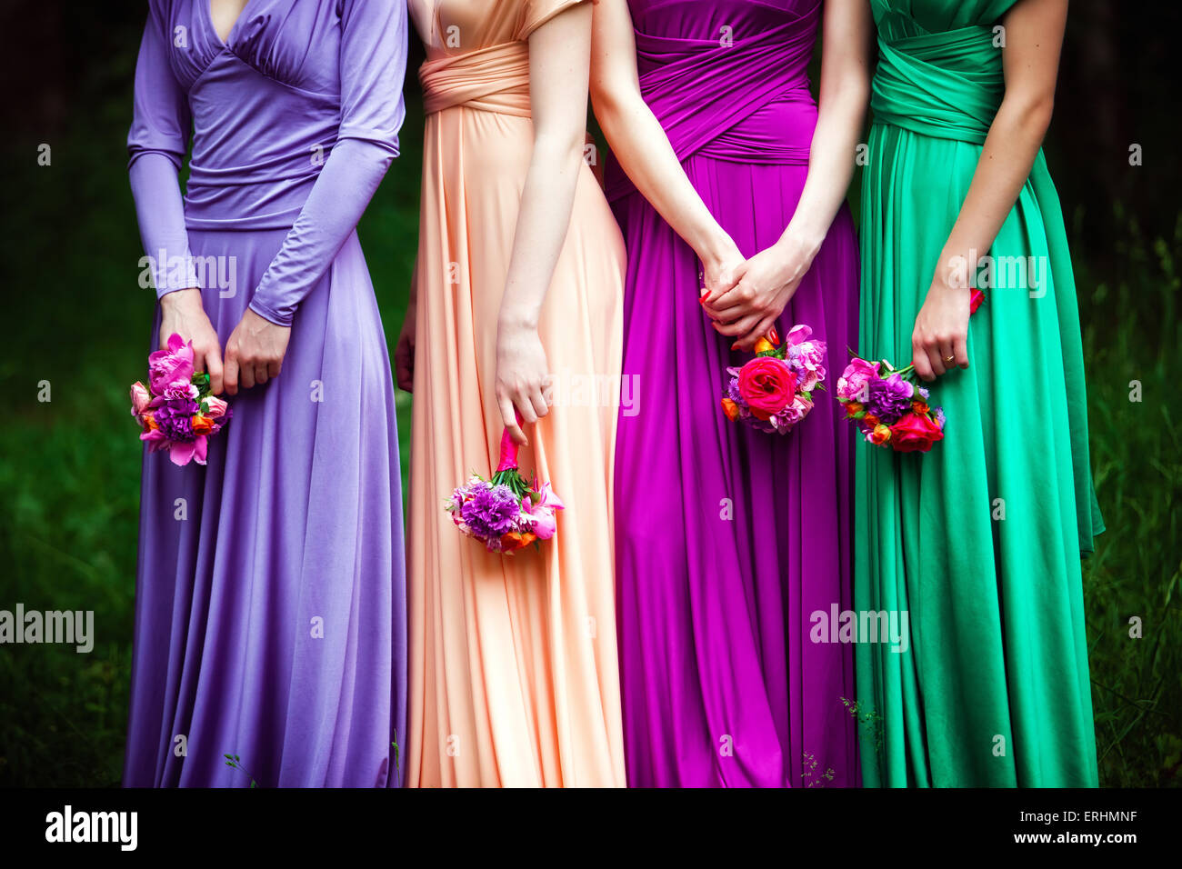 Bridesmaids Dresses Stock Photos & Bridesmaids Dresses Stock Images ...