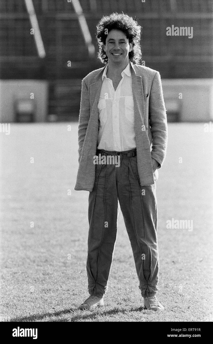 Leyton Orient F.C. footballer Barry Silkman. 25th January 1985. - Stock Image