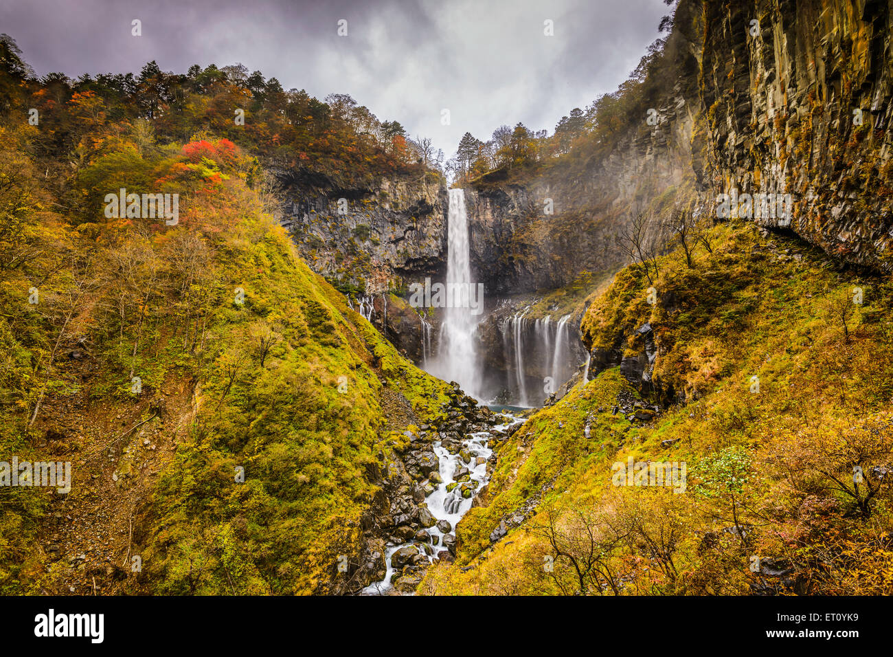 Nikko, Japan at Kegon Falls. - Stock Image