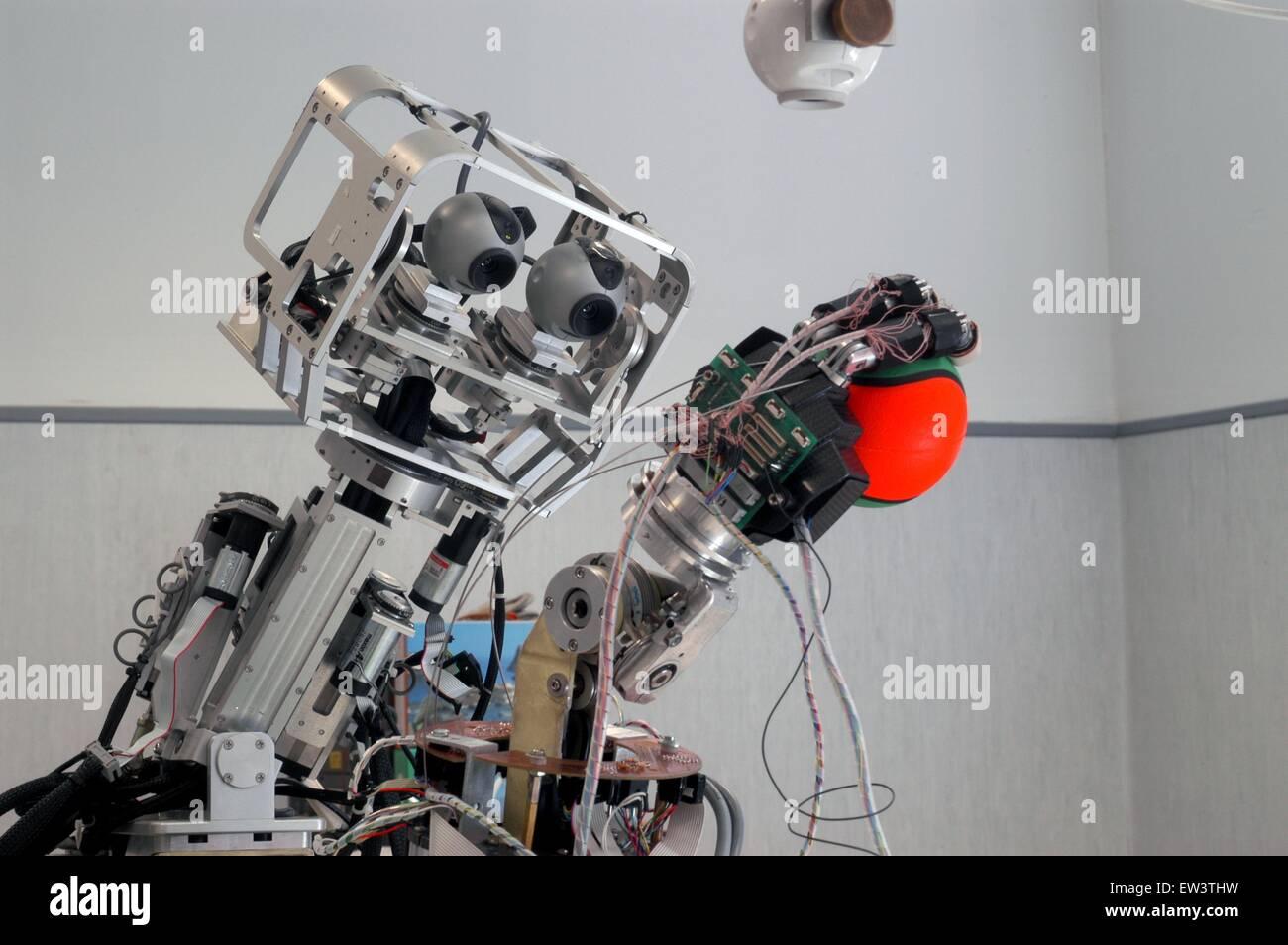 Advanced School St .Anna of Pisa, research center of Pontedera, Laboratory ARTS Lab (Advanced Robotics Technology) - Stock Image