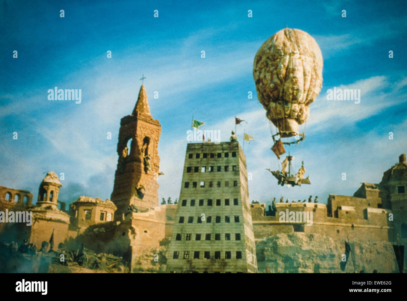 the adventures of baron munchausen - Stock Image