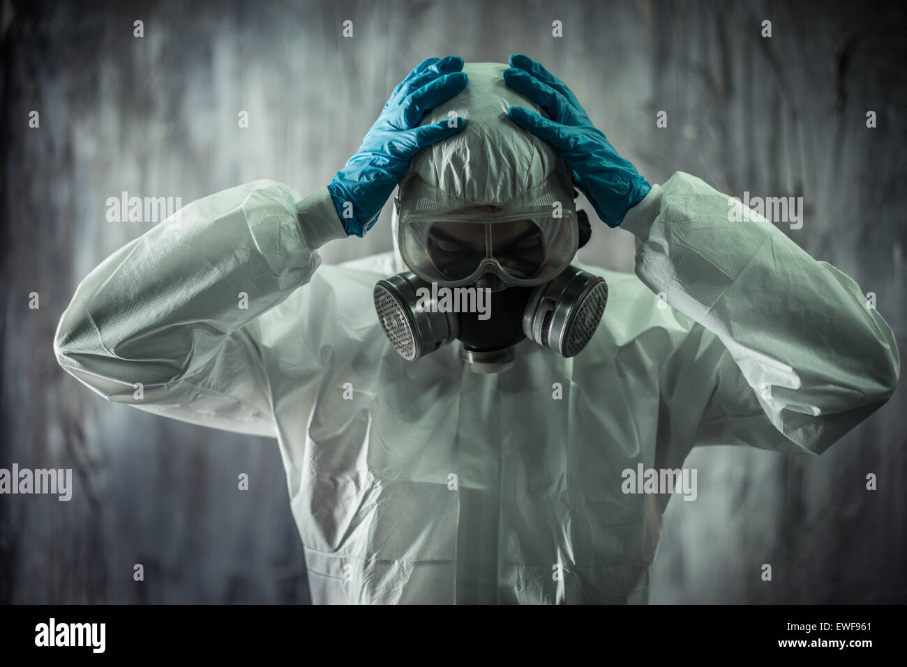 Concept for Virology and diseases - Stock Image