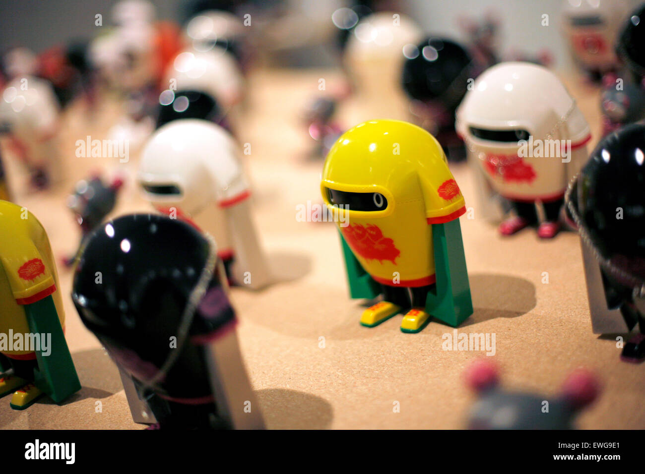 Mini robots Stock Photo