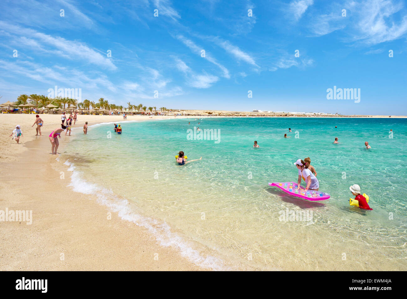 Abu Dabbab Beach, Marsa Alam, Red Sea, Egypt Stock Photo