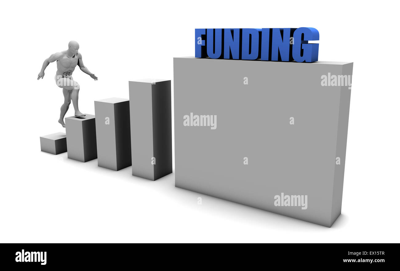 Improve Your Funding and Increase or Reach Your Goal - Stock Image